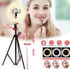 10'' Dimmable LED Ring Light Tripod Stand Phone Holder Selfie  Youtube   CN ,a