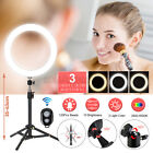 8/13'' LED Dimmable Ring Light 24'' Tripod Phone bluetooth Selfie Live w/   ,a