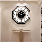 JUJUDA Large Wall Clocks for Living Room Decor Modern Slient Wall Clock for Home