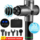 6/8 Heads Powerful Message Gun Percussion Vibration Muscle LCD Tissue Therapy - Best Reviews Guide