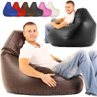 HIGH BACK Bean Bags Bag GAMING POD CHAIR beanbag Faux Leather Gamer Outdoor RIO