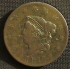 1817 Large Cent 13 Star