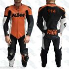 Race Kangaroo Leather Motorcycle Suit 1pc 2pc High Standard Custom Made Graphics