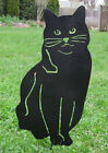 Cat Garden Stake, Garden Decor, Garden Art, Pet Memorial, Lawn Ornament, Metal