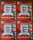 ENGLAND PLASTIC CAR GRILL BADGE / SHIELD Choice of 4