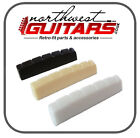 43mm x 5mm Resin Guitar Nut  Black White Ivory - AN5043