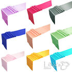 "20 pieces 12""x108"" Satin Table Runner Wedding Party Banquet Decoration COLORS"