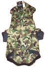 DOG CAMOUFLAGE FLEECE HOODY JUMPER COAT JACKET WITH HOOD - XS, S, M, L *NEW*