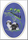 Havanese Birthday  Card Embroidered by Dogmania