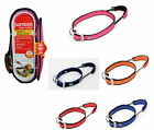 Bamboo Dog Collar with Built in Padded Leash Handle for Quick Control
