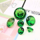 Crystal Emerald Diamond Confetti Wedding Party Favor Paperweight Scatter Decor