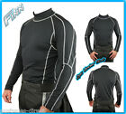 Mens Thermal Suit Liner for Motorcycle Leathers Compression Coolmax 2pc L 3XL