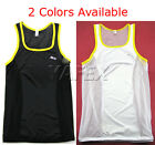Polyester Men's T-shirts Male Sleeveless Shirt Sport Vest Tank Tops 2Colors 1Sz