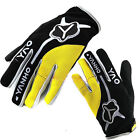 Brand New Cycling Bike Bicycle FULL Warm finger gloves Size M - XL Yellow