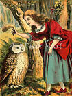 BoPeep And Owl - CANVAS OR PRINT WALL ART