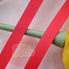 50 Yards Red Grosgrain Ribbons Sewing Scrapbooking Craft 6mm,10mm,15mm #40