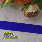 50 Yards Dark Blue Grosgrain Ribbons Sewing Scrapbooking Craft 6mm,10mm,15mm #60