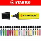 Stabilo Boss Original Highlighter Ink Pen Markers - Choose from 15 Colours