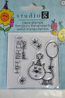 Studio G Clear Stamps. Ideal for Crafting/Cardmaking