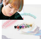 Korean Band Shinee Key Ball Stud Earring Fine Stainless Steel Made in Korea