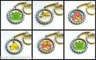 Angry Birds Keyring - Choose Red,Yellow,Green Angry Bird,Mrs Angry Bird,Pig King