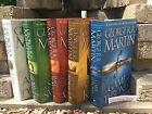 Song of Ice and Fire Game of Thrones Hardcover Set George R. R. Martin Set NEW