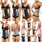 Moldeate 8032 Waist Cincher Fat Burner Animal Printed for /Workout/Sport 2 Hooks