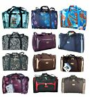 "21"" Holdall Hand Luggage Cabin Approved Carry On Flight Bag RYANAIR Gym Bag B/N"