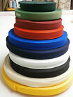 3 METRES 25mm WIDE WEBBING POLYESTER APRON TAPE