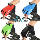 Sales Cycling Bicycle Half Finger GEL Sillcone Gloves Size M -XL Four Colours