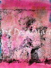Pink Texture - - CANVAS OR PRINT WALL ART