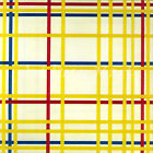 Composition NYC- Mondrian - CANVAS OR PRINT WALL ART