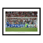 Drogba's Penalty Chelsea 2012 Champions League Final Photo Memorabilia (8792)