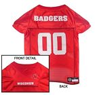 Wisconsin Badgers NCAA Licensed Pet Dog Football Jersey