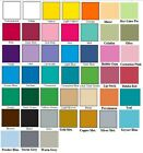 "1 Sheet 12""x 24"" 631 Matte Craft Vinyl for Cricket 45 Colors to pick from Oracal"