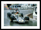 Emerson Fittipaldi 1972 Monaco Grand Prix Formula 1 Photo Memorabilia (9803)