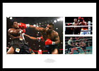 Mike Tyson Memorabilia : Triple Heavyweight Boxing Photo Montage (TYMU01)