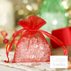 50 Organza Gift Bags 3x4 4x6 5x7 Wedding Christmas Party Favor Packaging Pouches