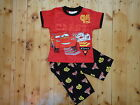 BNWT Disney Cars  Boys Summer Pyjamas/PJ Size 1,2,3,4,5,6