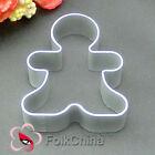 Child Shape Metal Fondant Cake Biscuit Chocolate Plunger Cutter Mould M-F24