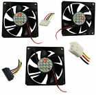 Pc Laptop Fan Case Fans 2.5cm 3cm 4cm 5cm 6cm 7cm 8cm 9cm 12mm 3 Pin Molex SATA