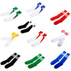11 CHOICES STRIPE LONG KNEE HIGH SPORT TUBE SOCKS SOCCER FOOTBALL RUGBY HOCKEY