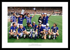 Everton FC 1984 FA Cup Final Team Celebrations Photo (087)