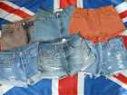 Vintage LEVIS High Waised Denim Shorts SIZE 12, Choice of colours