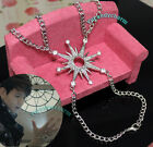 Korean Band EXO Logo BAEK HYUN BAEKHYUN STAR Snow Flake Bracelet Hand Decoration