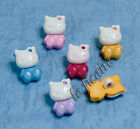U PICK~ Kitty Cat Shank Buttons Trims Crafts Cards Scrapbooking x 15 pcs #4259