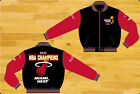 Miami Heat 2012 NBA Champions Mens Light Weight Twill Zip-up Jacket by JH Design