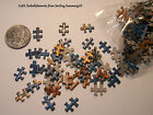 Mini Puzzle Pieces Small Embellishments for Jewelry, Collage, Scrapbooks & More!