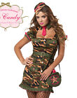 Military Army Private First Class Sexy Adult Womens Outfit Halloween Costume