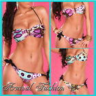 NEW SEXY PUSH UP BIKINI SET SWIMWEAR for LADIES SUMMER CLOTHING PRINT BIKINIS